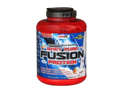 whey pure fusion protein 2300 g amix bestbody