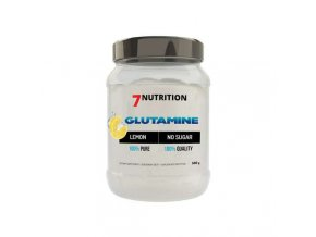 7 Nutrition Glutamine 500 g / Lemon