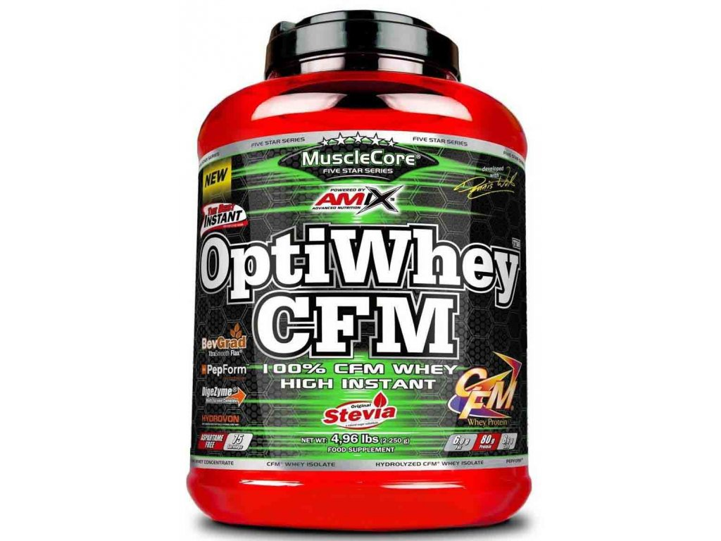 Amix MuscleCore OptiWhey CFM Instant Protein 1000g