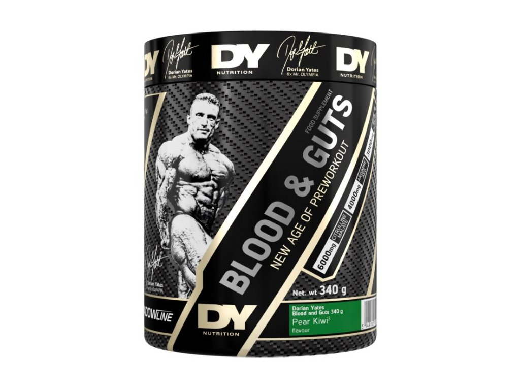 Dorian Yates Nutrition Blood & Guts 340 g