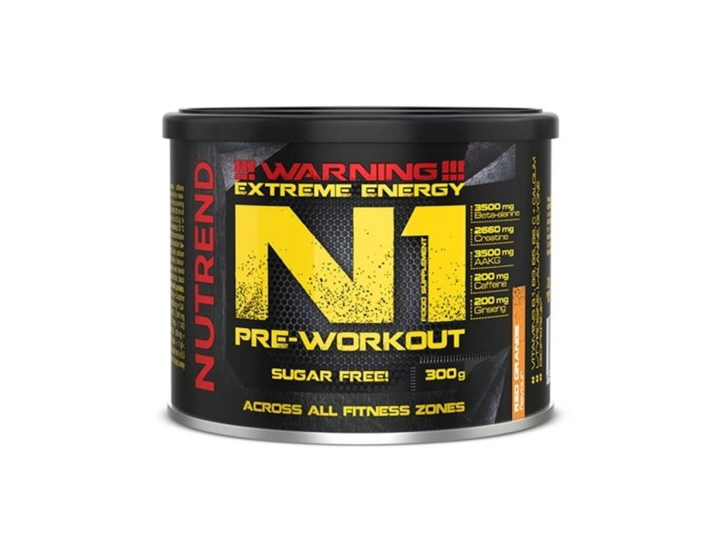 Nutrend N1 PRE-WORKOUT 300g