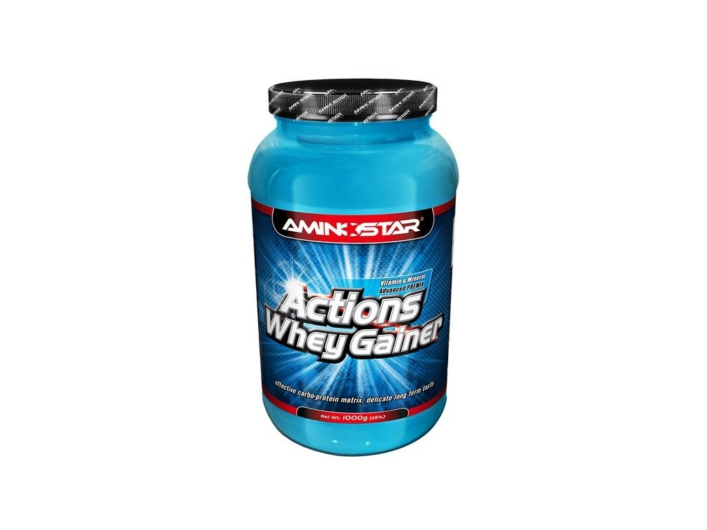 Aminostar Whey Gainer Actions 4500g