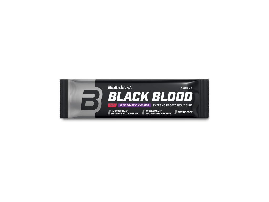 BioTech Black Blood Caf+ 10 g