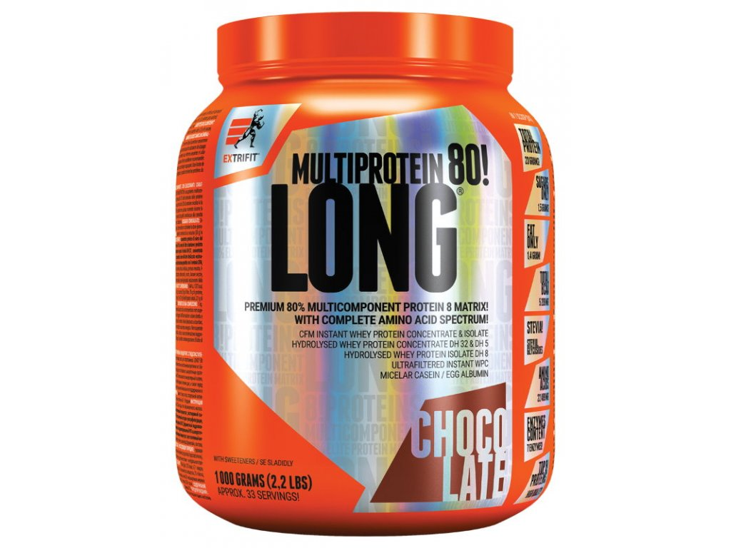 Extrifit Long 80 Multiprotein 1000g