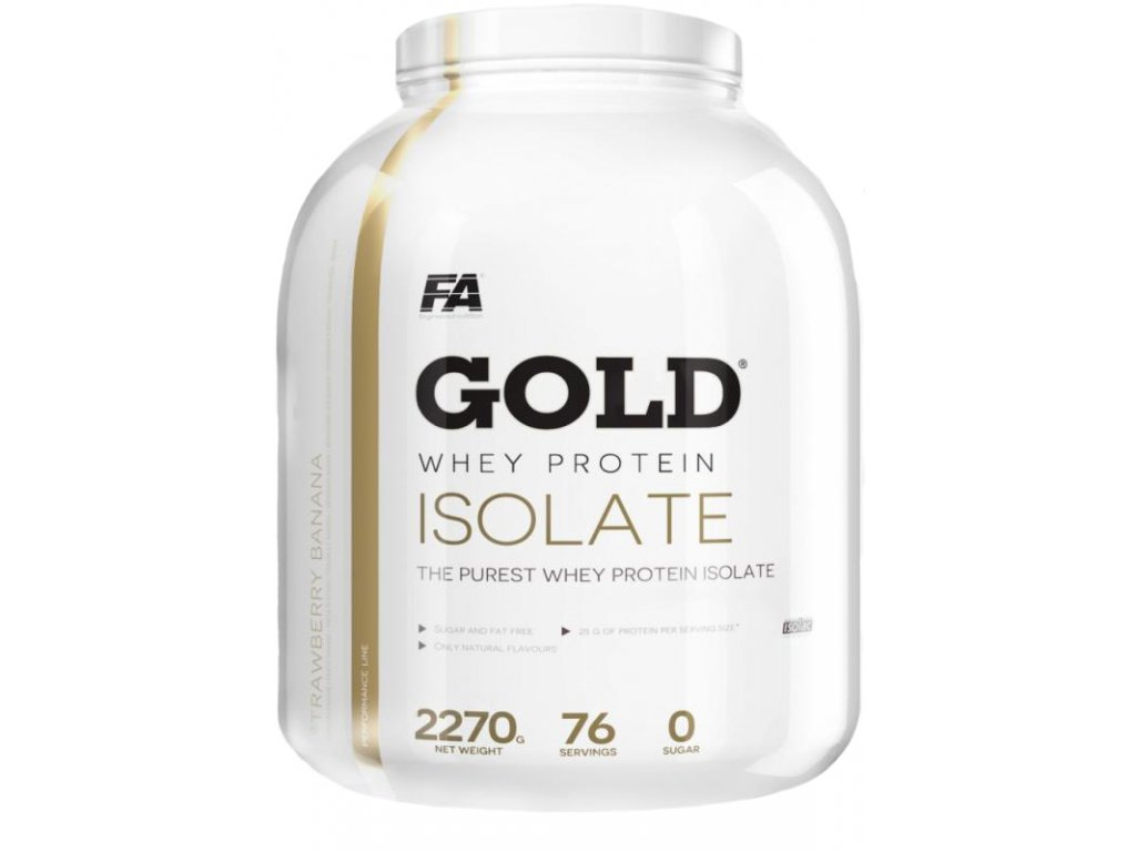 Fitness Authority Gold Whey Protein Isolate 2270g