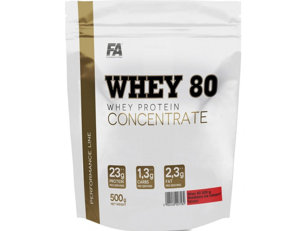 Fitness Authority Whey 80 Protein 500g