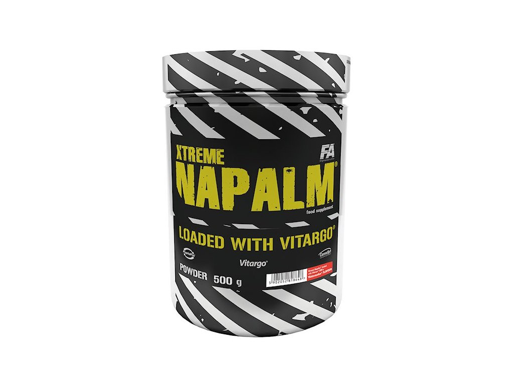 Fitness Authority Xtreme Napalm Vitargo 500 g