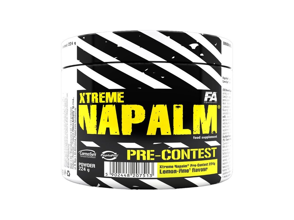 Fitness Authority Xtreme Napalm Pre-Contest 224g