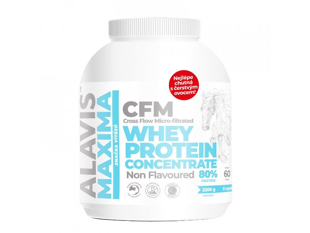 Alavis Maxima CFM Whey Protein Concentrate 2200g