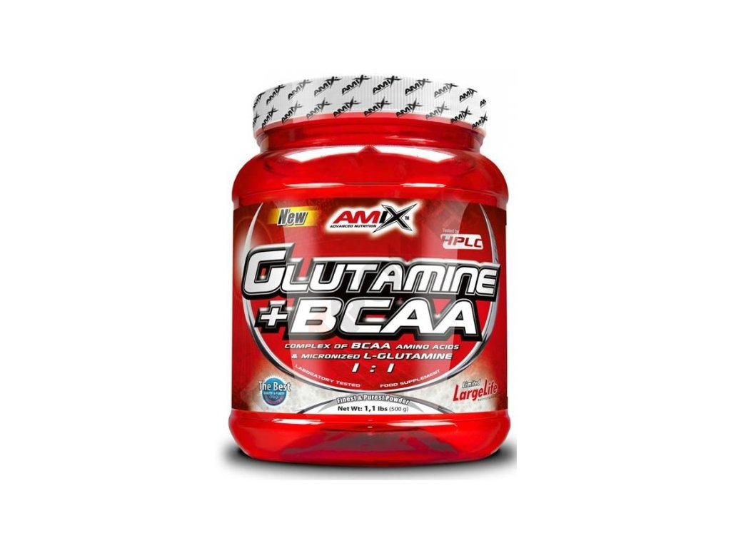 Amix L-Glutamine + BCAA Powder 500 g