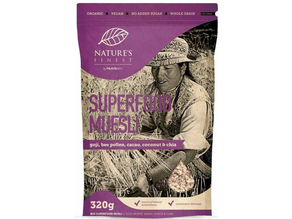 Nutrisslim BIO Superfood Muesli 320 g