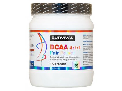 Survival BCAA 4:1:1 Fair Power 150 tabliet