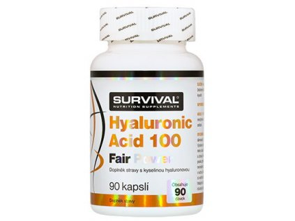 Survival Hyaluronic acid 100 fair power 90 kapsúl