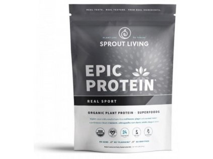 Sprout Living Epic proteín organic Real Sport 494g