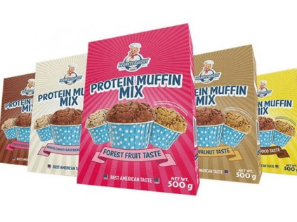 Frankys Bakery Proteín Muffin Mix 500g