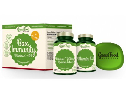 GreenFood Box Immunity + Pillbox
