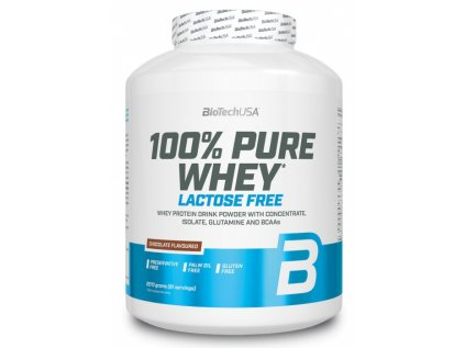 BioTech 100 % Pure Whey Lactose Free 2270g