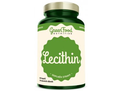 GreenFood Lecithin 60 kapsúl