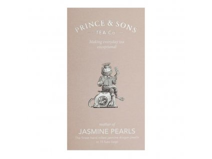Prince and Sons Jasmine Pearls 15 vrecúšok 30 g