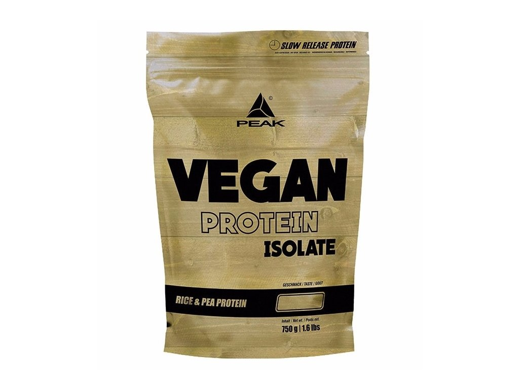 Peak Vegan Protein Fusion 750 g (Příchuť Cookies & Cream)