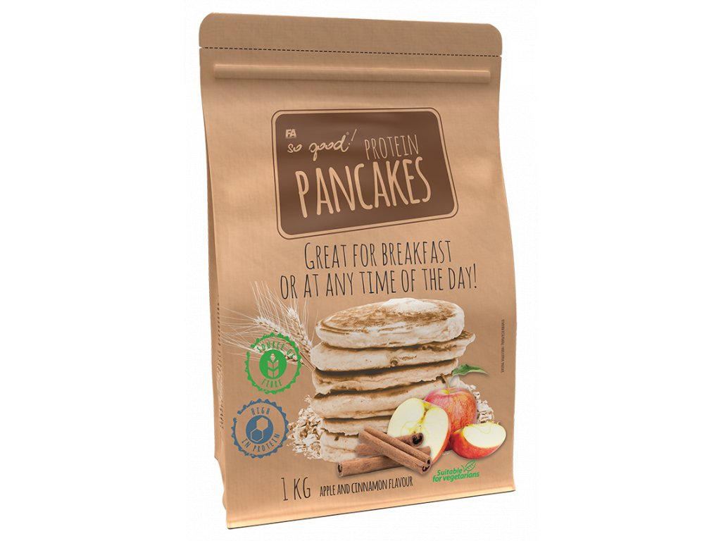 SO GOOD! Protein Pancakes 1000 g (Varianta strawberry)
