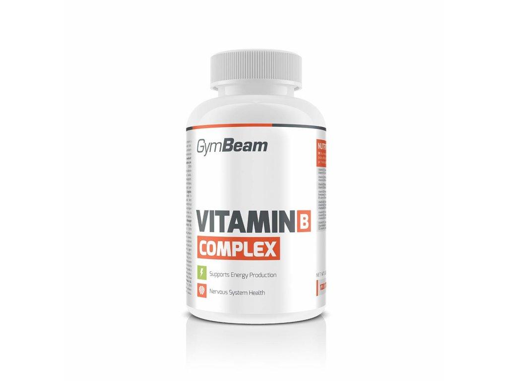 Vitamín B-Complex 120 tab - GymBeam (Tablety 120 tab.)