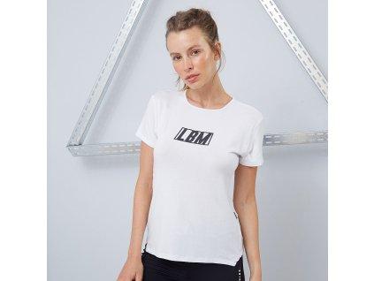 Dámské tričko Essentials White - LABELLAMAFIA (velikost S, barva bílá)