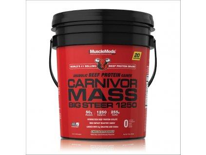 Carnivor Mass Big Steer - MuscleMeds (Příchuť čokoláda, Balení (g) 6800 g)