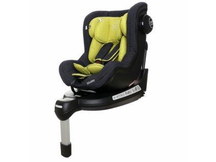 887457 coto baby autosedacka solario s 360 otacenim isofix systemem protismer 0 18 kg olive