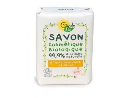 897393 cigale bio mydlo s citronovym esencialnim olejem 100 g