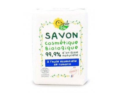 897396 cigale bio mydlo s rozmarynovym esencialnim olejem 100 g
