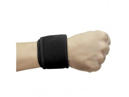 Bandáž na zápěstí neoprenová FITBAND - Spokey (barva černá)