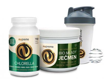 900888 nupreme chlorella bio 750 tbl mlady jecmen premium 200 g bio shaker