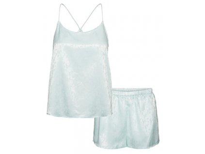 VERO MODA Dámské pyžamo VMNINA 10249079 Icy Morn (velikost L)