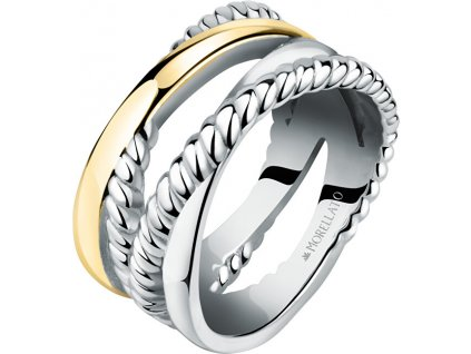 Morellato Romantický pozlacený prsten Insieme SAKM86 (Obvod 58 mm)