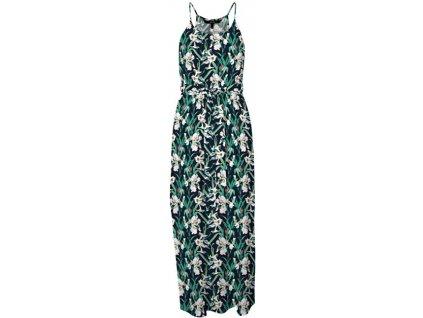VERO MODA Dámské šaty VMSIMPLY EASY 10245167 Navy Blazer VIBE (velikost L)