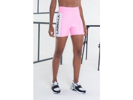 Dámské šortky Essentials Pink - LABELLAMAFIA (velikost S)