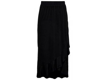 Jacqueline de Yong Dámská sukně JDYFANTORINI 15201188 Black (velikost S)