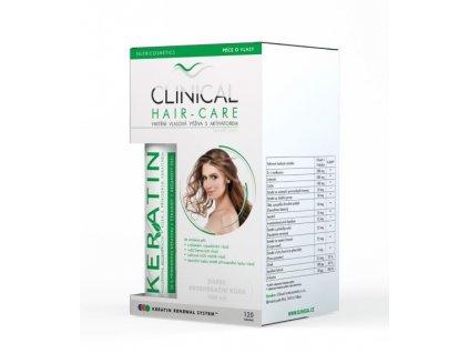 995319 clinical hair care 120 tobolek keratin 100 ml kura na 4 mesice