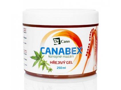 1003512 dr cann canabex konopne mazani hrejivy gel 250 ml
