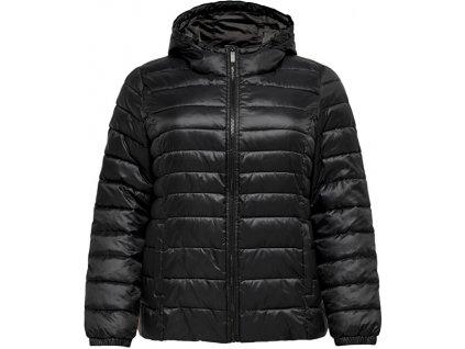 ONLY CARMAKOMA Dámská bunda CARTAHOE 15206086 Black (velikost 3XL/4XL)