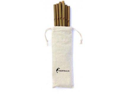 1023987 tropikalia set 8 bambusovych brcek s kartackem a obalem