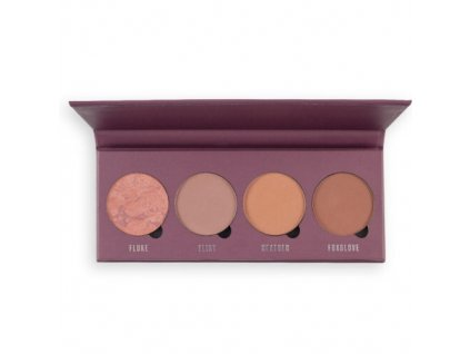 1026330 makeup obsession paletka tvarenek mad about mauve contour palette 10 g