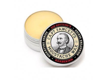 1028280 captain fawcett vosk na knir barberism moustache wax 15 ml