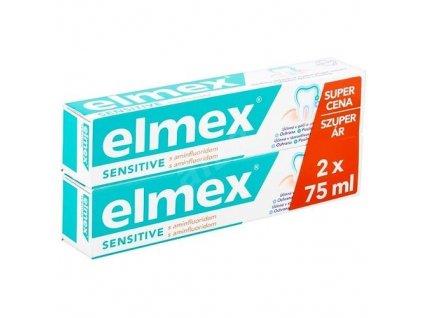 1028688 elmex zubni pasta pro citlive zuby sensitive duopack 2 x 75 ml