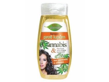 1038714 bione cosmetics sampon proti lupum cannabis pro zeny 260 ml