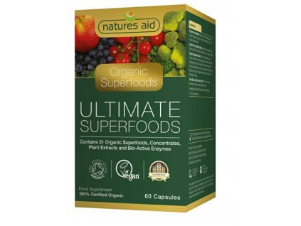 1040619 natures aid extrakty superpotravin a enzymu 60 tablet
