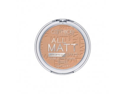Catrice Matující pudr All Matt Plus (Shine Control Powder) 10 g (Odstín 030 Warm Beige)