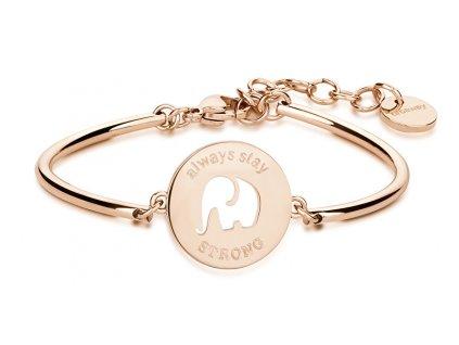1043454 brosway ocelovy naramek elephant chakra bhk25
