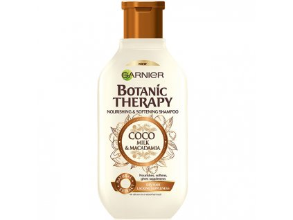 Garnier Vyživující a zvláčňující šampon pro suché a hrubé vlasy Botanic Therapy (Coco Milk & Macadamia Shampoo) (Objem 250 ml)
